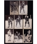 1948-1952 Montreal Canadiens Canadian Hockey Exhibit Card Collection of 44