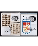 1972 Canada-Russia Series Team Canada Player Photo Collection of 42 Plus Scarce Mini-Pennant Given to Players
