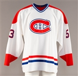 Rory Fitzpatricks Mid-1990s Montreal Canadiens Game-Worn Rookie-Era Jersey with Team LOA