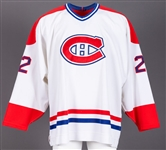 Chris Murrays 1996-97 Montreal Canadiens Game-Worn Home Jersey Obtained from Team with LOA