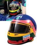 Jacques Villeneuve's 2005 Credit Suisse Sauber Petronas F1 Team Bell Race-Worn Helmet with His Signed LOA – Worn in 3 Grand Prix! – Photo-Matched!