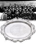Jack Adams 1950-51 Detroit Red Wings NHL Championship Tray