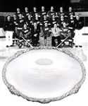 Jack Adams 1956-57 Detroit Red Wings NHL Championship Tray