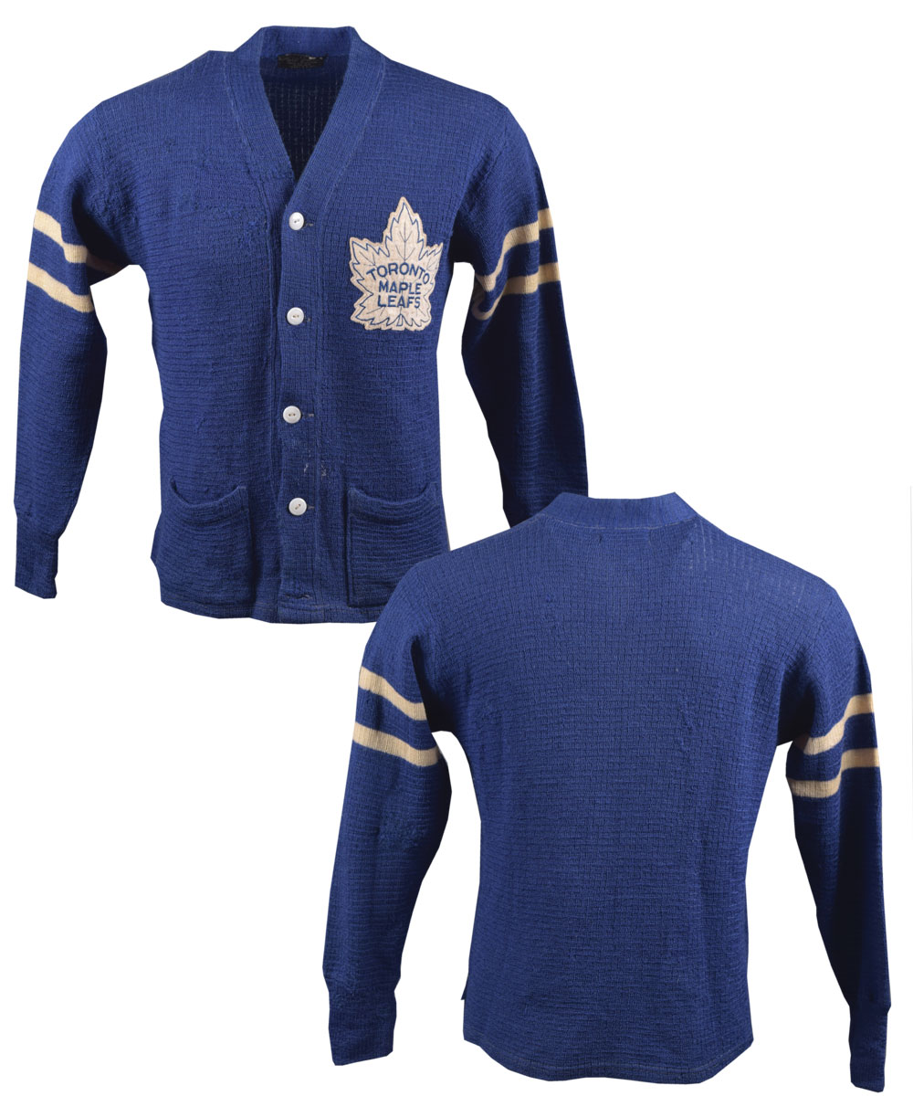 461b3c5730e Lot Detail - Vintage Late-1950s/Early-1960s Toronto Maple Leafs Wool ...
