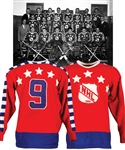 "Maurice Richards 1950 NHL All-Star Game ""All-Stars"" Game-Worn Wool Jersey with LOA"