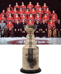 "Jacques Laperrieres 1970-71 Montreal Canadiens Stanley Cup Championship Trophy with His Signed LOA (13"")"
