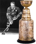 "Henri Richards 1967-68 Montreal Canadiens Stanley Cup Championship Trophy from His Personal Collection with His Signed LOA (13"")"