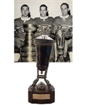 "Jacques Laperrieres 1967-68 Montreal Canadiens Prince of Wales Championship Trophy with His Signed LOA (13"")"