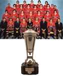 "Jacques Laperrieres 1972-73 Montreal Canadiens Prince of Wales Championship Trophy with His Signed LOA (13"")"