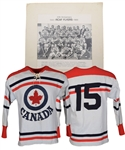 "Julius ""Pete"" Leichnitzs ""1948-68 RCAF Flyers 20th Anniversary Reunion Game"" Game-Worn Jersey with LOA"