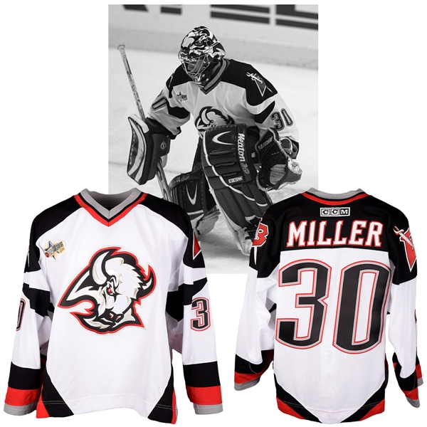 "Ryan Millers 2003 NHL All-Star Game ""Topps YoungStars"" Eastern Conference Game-Worn Jersey with LOA"