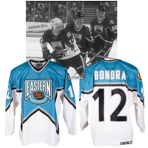 Peter Bondras 1996 NHL All-Star Game Eastern Conference Signed Game-Worn Jersey with NHLPA LOA