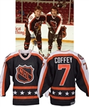 Paul Coffeys 1991 NHL All-Star Game Wales Conference Game-Worn Jersey with His Signed LOA