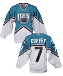 Paul Coffeys Signed 1997 NHL All-Star Game Eastern Conference Jersey #1 with His Signed LOA