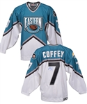 Paul Coffeys Signed 1997 NHL All-Star Game Eastern Conference Jersey #2 with His Signed LOA