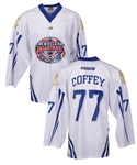 Paul Coffeys Signed 2006 World All Stars Hockey Game Event-Worn Jersey with His Signed LOA