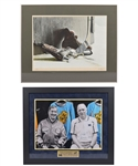 "Gordon ""Red"" Berensons Memorabilia Collection with Ken Danby ""Skates"" 1972 Limited-Edition Framed Lithograph #64/100 with His Signed LOA"