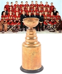 "Tod Sloans 1960-61 Chicago Black Hawks Stanley Cup Championship Trophy with Sloan Family LOA (13"")"