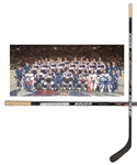 Eric Lindros 2000 NHL All-Star Game North America All-Stars Team-Signed Game-Used Stick with His Signed LOA