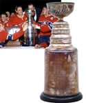 "Original Montreal Canadiens 1964-65 Stanley Cup Championship Trophy (13"")"
