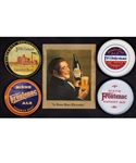 Vintage Frontenac Breweries/Beer Advertising Collection Including Trays (4), Early Advertising Lithograph, Stoneware Beer Jug, Playing Cards and More!