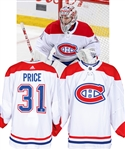 Carey Price's 2018-19 Montreal Canadiens Game-Worn Jersey with Team LOA - Photo-Matched!