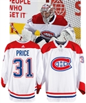 Carey Price's 2018-19 Montreal Canadiens Game-Worn Jersey with Team LOA