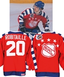 Luc Robitailles 1992 NHL All-Star Game Campbell Conference Game-Worn Jersey from His Personal Collection with His Signed LOA