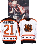 Luc Robitailles 1991 NHL All-Star Game Campbell Conference Game Jersey from His Personal Collection with His Signed LOA