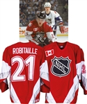 Luc Robitailles 1999 NHL All-Star Game North America All-Stars Game-Worn Jersey from His Personal Collection with His Signed LOA