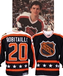 Luc Robitailles 1990 NHL All-Star Game Campbell Conference Game-Worn Jersey from His Personal Collection with His Signed LOA