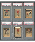 1951-52 Parkhurst Hockey Card Near Complete Set (103/105) with PSA-Graded Cards (6) Including #4 HOFer Maurice Richard RC (VG 3) and #66 HOFer Gordie Howe RC (Good+ 2.5)