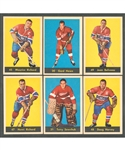 1960-61 Parkhurst Hockey Complete 61-Card Set Plus Wrapper