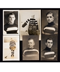 Ottawa Senators Vintage 1920s/30s Photo Collection of 10 Including 3 HOFers with Connell, Broadbent and Hooley Smith