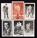 Large Quebec Aces and Quebec Citadelle 1950s/60s Postcard and Photo Collection of 185+ including 37 Signed