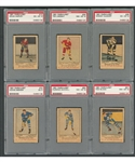 1951-52 Parkhurst Hockey PSA-Graded Card Collection of 15 Including #56 HOFer Ted Lindsay RC (PSA 8) and #10 HOFer Doug Harvey RC (PSA 6)