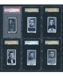 1912-13 Imperial Tobacco C57 Hockey SGC and PSA-Graded Near Complete Set (47/50)