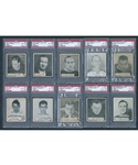 1937-38 World Wide Gum V356 Hockey PSA-Graded Near Complete Set (131/135)