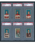 1910-11 Imperial Tobacco C56 Hockey SGC and PSA-Graded Near Complete Set (35/36)