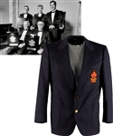 Henri Richards Canadas Sports Hall of Fame Honoured Member Blazer Jacket from His Personal Collection with Family LOA