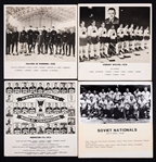 International Hockey Hall of Fame IIHF World Championships Gold Medal Winners Team Photo Display Collection of 37