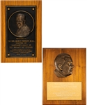 George Springates 1971 Knights of Pythias Bronze Plaque Award, Presentation Photo and 1985 L.B. (Mike) Pearson Award with Family LOA