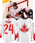 Corey Perrys 2016 World Cup of Hockey Team Canada Game-Worn Jersey - Fanatics Authenticated!