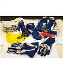 Jacques Villeneuves 2005 Credit Suisse Petronas F1 Team Race-Worn/Team-Issued Item Collection of 7 Plus Signed Visors (3) with His Signed LOA - Many Items Signed!