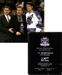 "Luc Robitailles January 7th 1999 ""500th NHL Goal"" Milestone Award from the Los Angeles Kings with His Signed LOA"