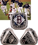 Boston Red Sox 2004 World Series Championship 18K Gold and Diamond Ring
