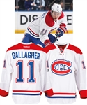 Brendan Gallagher's 2016-17 Montreal Canadiens Game-Worn Playoffs Jersey with Team LOA - NHL Centennial Patch! – Photo-Matched!