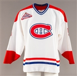 Montreal Canadiens 1992-93 Game-Issued #5 Jersey Obtained from Team with LOA - All-Star Game Patch!