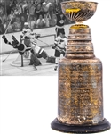"Derek Sandersons 1969-70 Boston Bruins Stanley Cup Championship Trophy from His Personal Collection with His Signed LOA (13"")"
