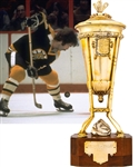 Derek Sandersons 1971-72 Boston Bruins Prince of Wales Championship Trophy from His Personal Collection with His Signed LOA